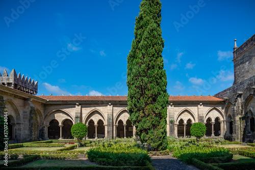 Fotomural catedral diocesana de Tui en Pontevedra , España Europa