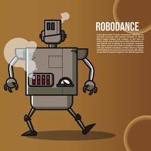 Robot Dance Caracter