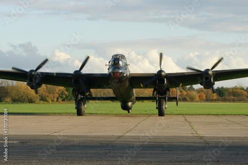 Papel de parede Avro Lancaster, heavy bomber