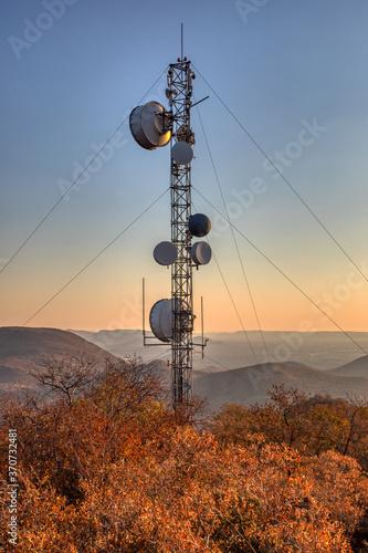 Fényképezés communication tower
