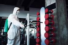 Fitness Gym Disinfection And H...