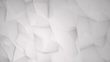 White Abstract Triangle Backgr...