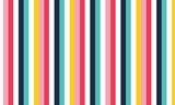 Dynamic multi coloured vertical stripe pattern vector - 370764805