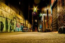 Graffiti Back Alley Vancouver, British Columbia, Canada