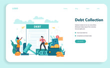 Debt Collector Web Banner Or L...