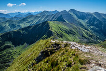 Tatra Mountains From Volovec P...