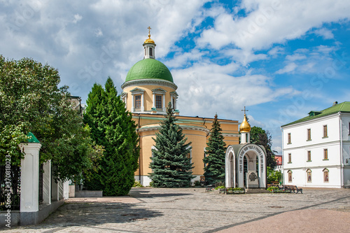 Photo The first Moscow prince Daniel founded the Danilov Monastery on the banks of the Moskva River in 1281