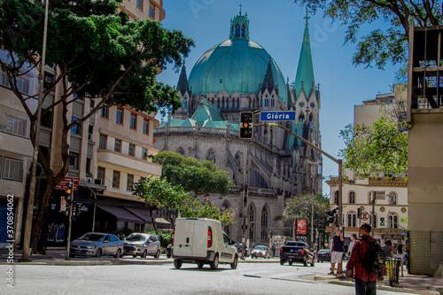 Catedral da Sé - Centro São Paulo / Brasil Fototapeta