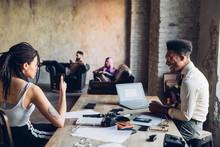 Creative Team Having Business ...