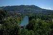 An der Aare in Bern in der Schweiz 21.5.2020