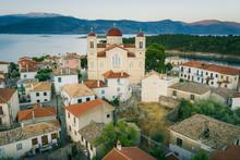 St. Nikolas Church In Galaxidi (Galaxeidi) In The Southern Part Of Phocis, Greece