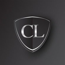 Initial Logo Letter CL With Sh...