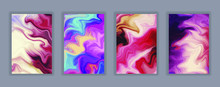 Abstract Gradient Artwork. Col...