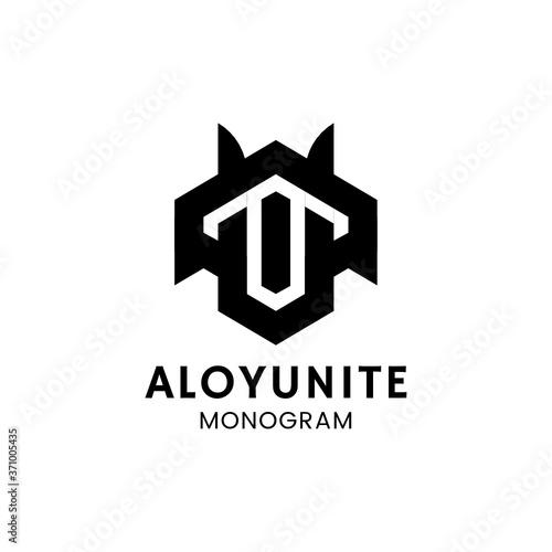 Photo Monogram minimalist simple logo design inspiration