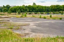 Huge Abandoned Parking Lot Nea...