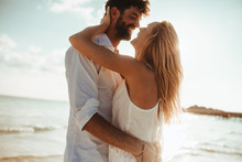 Couple In Love On A Holiday At...