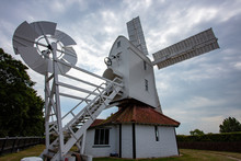 The Post Mill At Thorpeness Su...