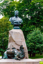 Monument To Nikolay Przhevalsky In St Petersburg, Russia