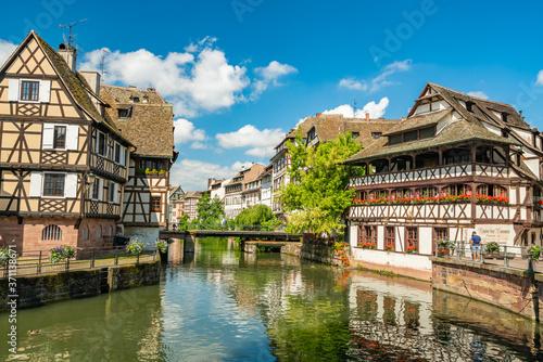 Strasbourg Alsace petite France area Billede på lærred