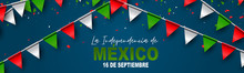 Mexico Independence Day Banner...