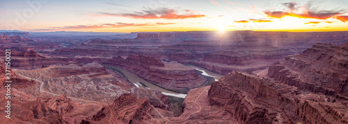 Fotografie, Obraz Dead Horse Point State Park nature skyline in Utah