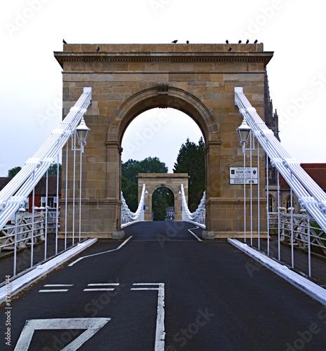 Photo Marlow Suspension Bridge