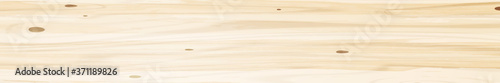 Obraz Panoramic texture of light wood with knots - Vector - fototapety do salonu