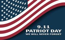 Sept 11 Patriot Day Usa Flag P...