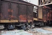 Katastrofa Kolejowa Wagonów Towarowych