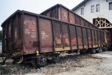 Wypadek Towarowych Wagonów Kolejowych