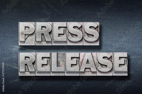 press release den Fotobehang