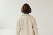 Anonymous Model In Coat