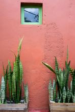 Mexican Design Of A Facade