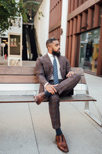 Man In Brown Suit