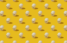 Halloween Skull/Dead Mask Pattern