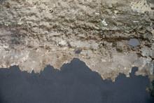 Abstract Concrete Wall With Re...