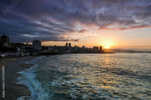Viña del Mar, Chile Fototapeta