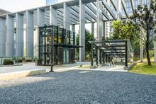Modern Office Building Outdoor...