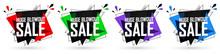 Set Huge Blowout Sale Banners,...