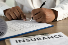 Concept Of Insurance Man Prote...