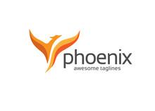 Luxury Phoenix Logo Concept, B...