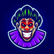 Clown Mascot Vector