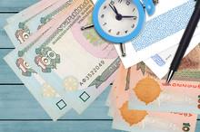 100 Ukrainian Hryvnias Bills A...