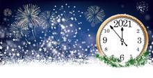 Countdown Zum Neujahr 2021
