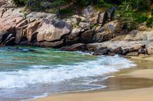 Shore At Acadia National Park-Maine