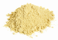 Fenugreek Powder On White Back...