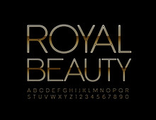 Vector Glamour Sign Royal Beau...