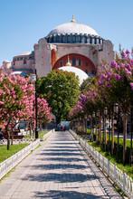 Hagia Sophia Mosque Against Co...