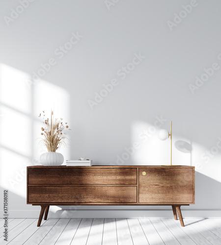 Modern Interior Background - 3d Rendering, 3d Illustration