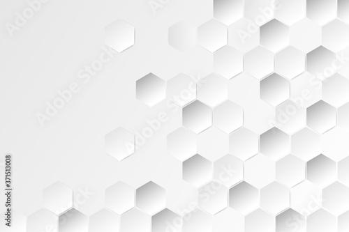Fotografie, Obraz hexagon pattern background